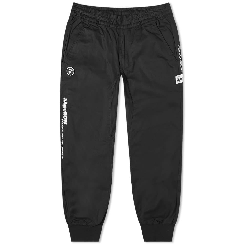 AAPE Elastic Cuff Chino - Black