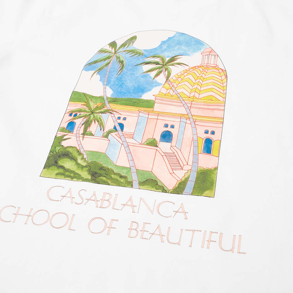 Casablanca School Of Beautiful Tee - White
