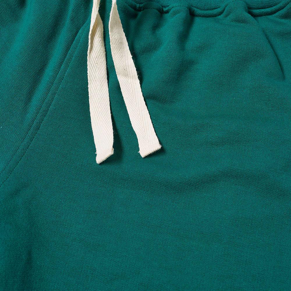Casablanca Logo Patch Jersey Short - Dark Green