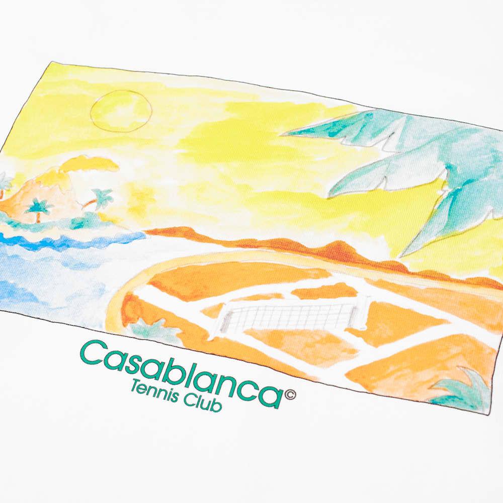 Casablanca Island Vue Tee - White