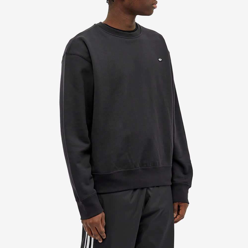 Adidas Premium Essentials Crew Sweat - Black