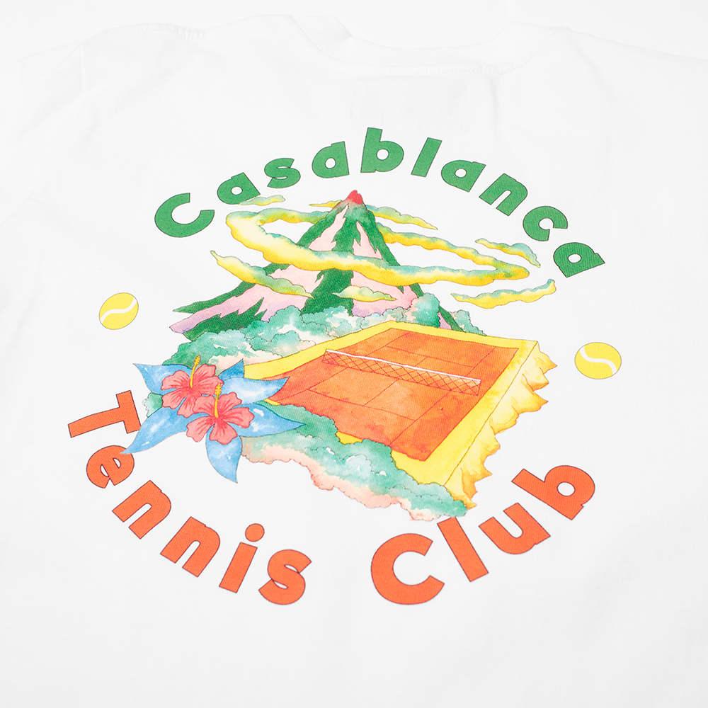 Casablanca Tennis Club Island Tee - White