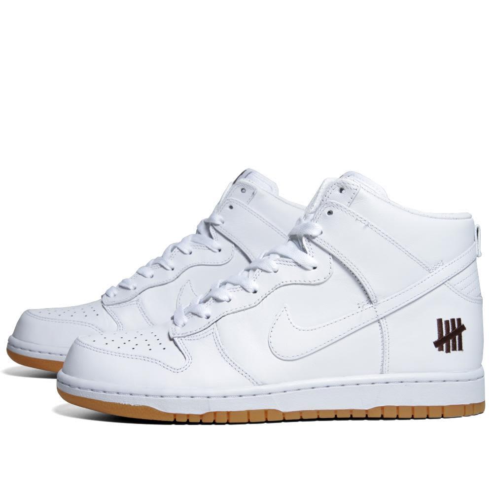 Nike x UNDFTD Dunk PRM Hi - White