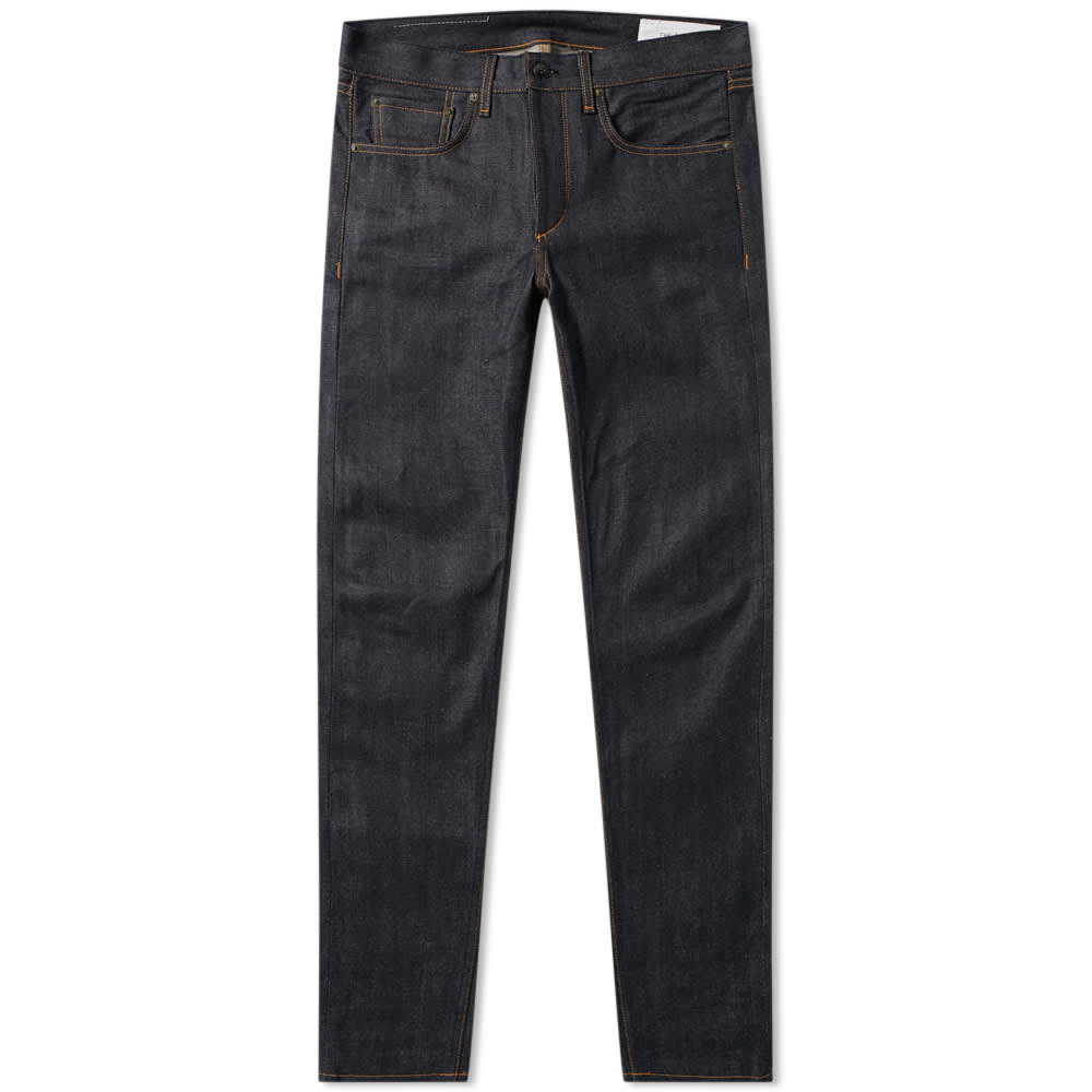 Rag & Bone Standard Issue Skinny Jean - Raw Indigo