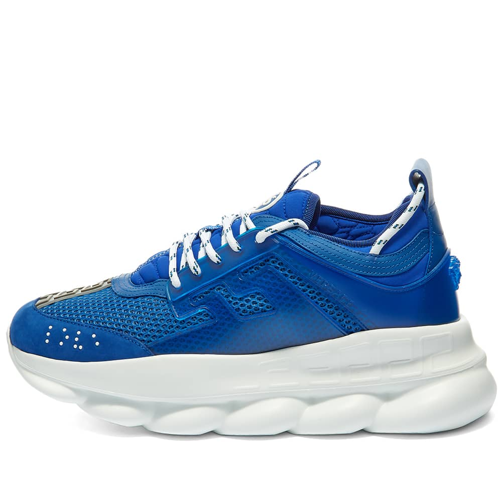 Versace Chain Reaction Sneaker Bluette