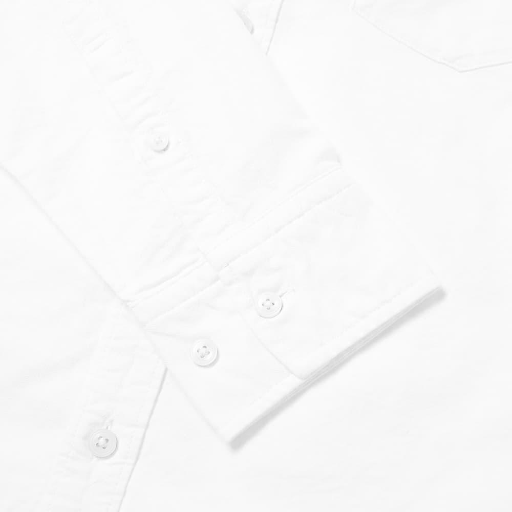 NN07 Levon Button Down Oxford Shirt - White