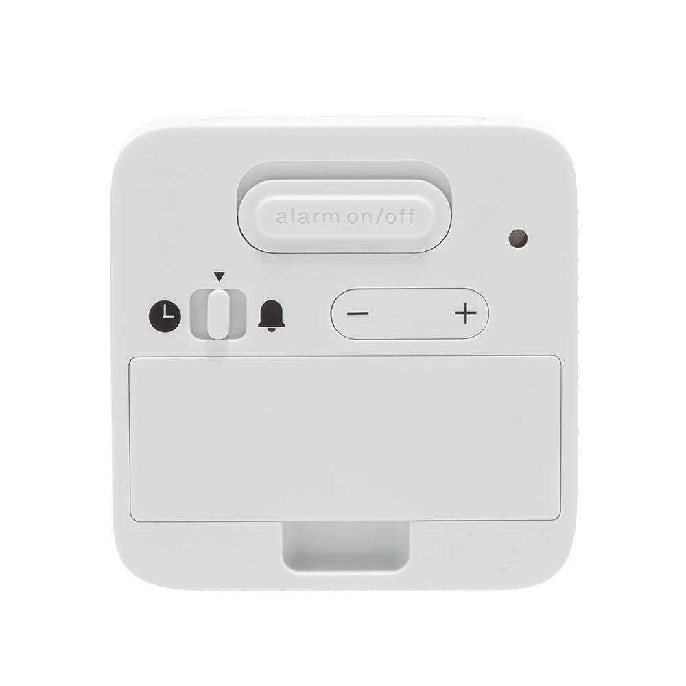 Braun Digital Travel Alarm Clock - White