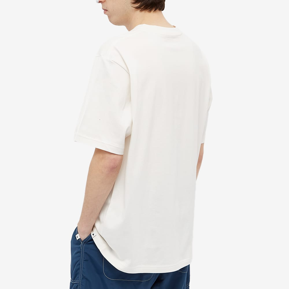 and wander Mountain & Moon Tee - Off White