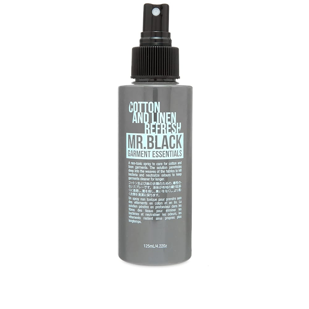 Mr. Black Garment Essentials Cotton & Linen Refresh - 125ml