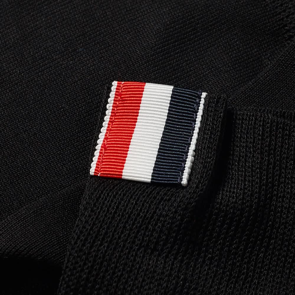Thom Browne 4 Bar Mid Calf Sock - Black