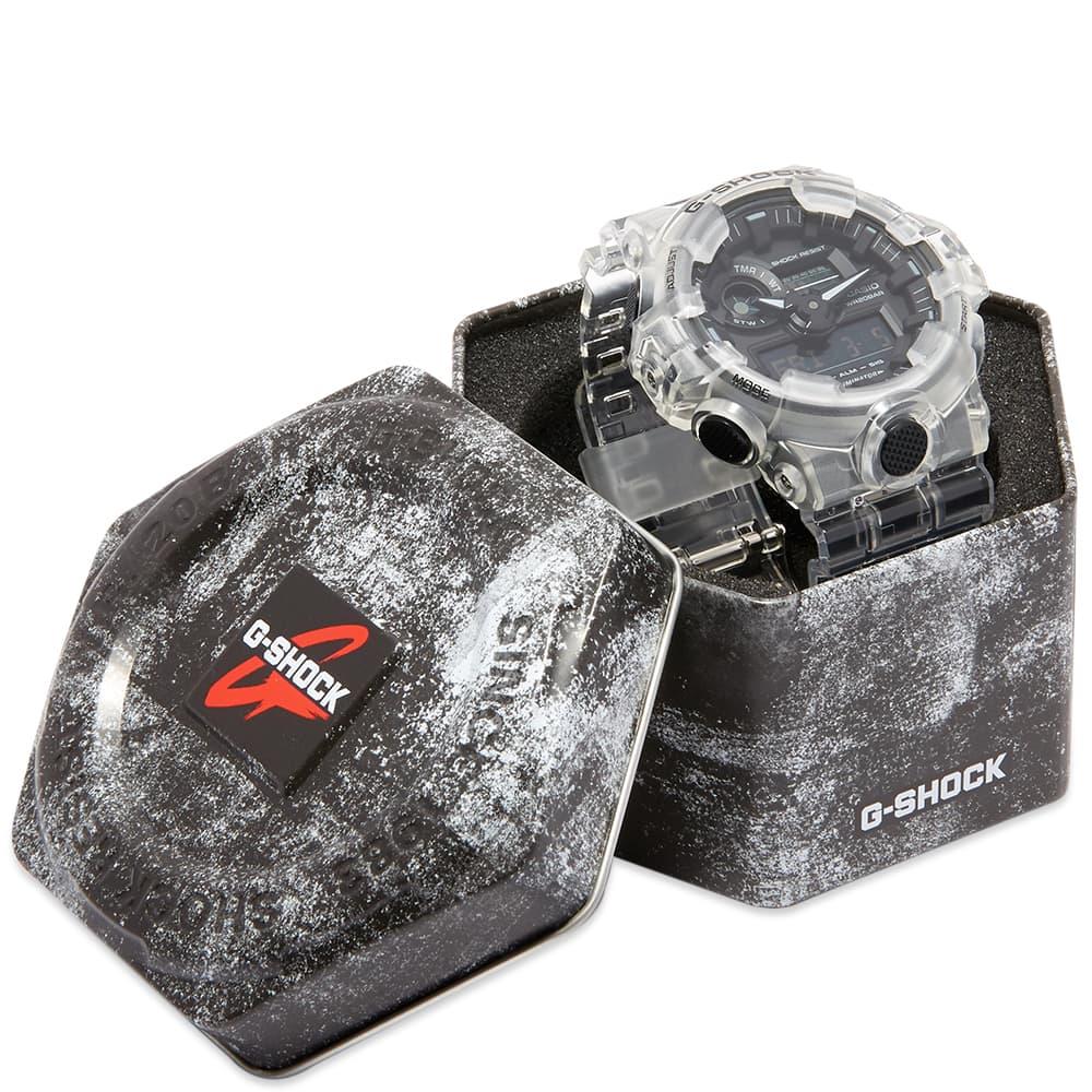 Casio G-Shock GA-700 Transparent Watch - Clear