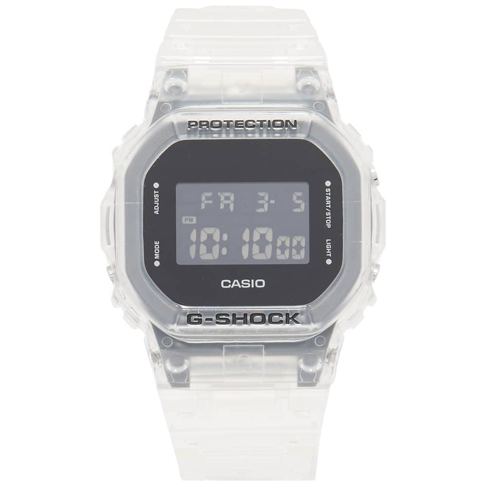 Casio G-Shock GA-5600 Transparent Watch - Clear