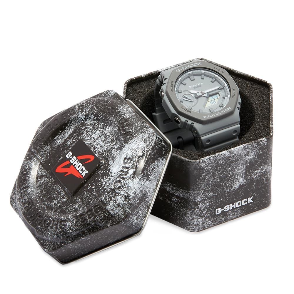 Casio G-Shock GA-2100 New Carbon Watch - Grey