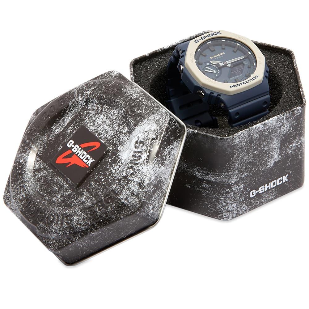Casio G-Shock GA-2100 New Carbon Watch - Navy