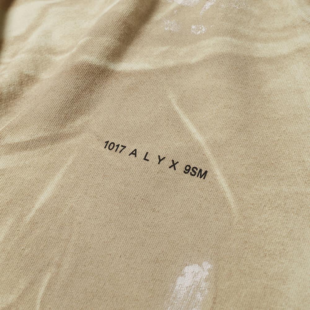 1017 Alyx 9SM Camo Print Logo Crew Sweat - Bone