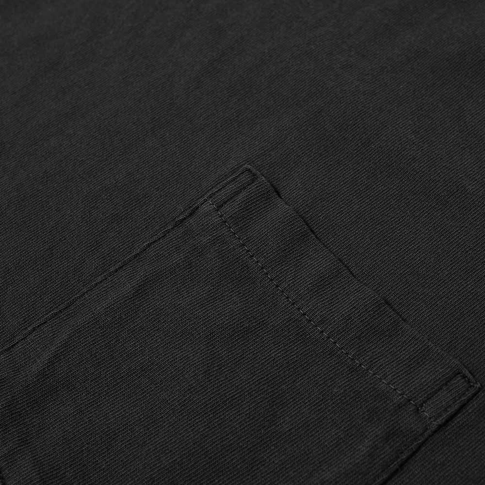 Velva Sheen Pigment Dyed Pocket Tee - Black