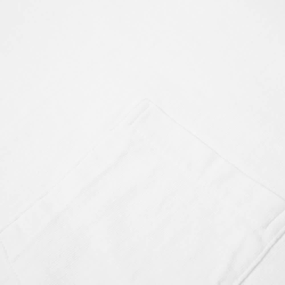 Velva Sheen Pigment Dyed Pocket Tee - White
