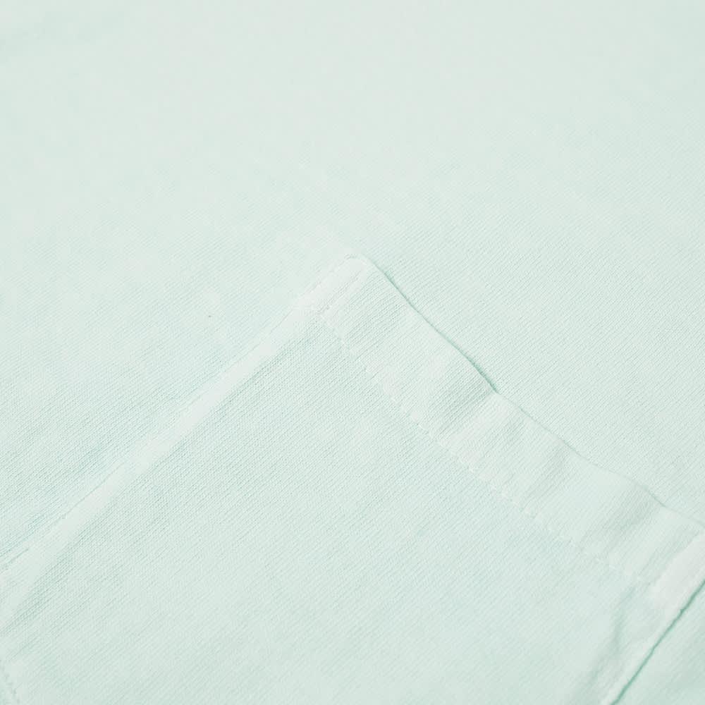 Velva Sheen Pigment Dyed Pocket Tee - Mint