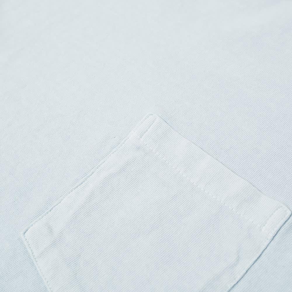 Velva Sheen Pigment Dyed Pocket Tee - Pool Blue
