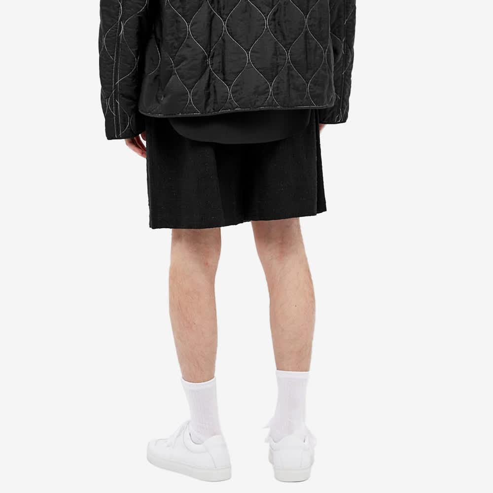 4SDesigns Baggy Short - Black Boucle Tweed