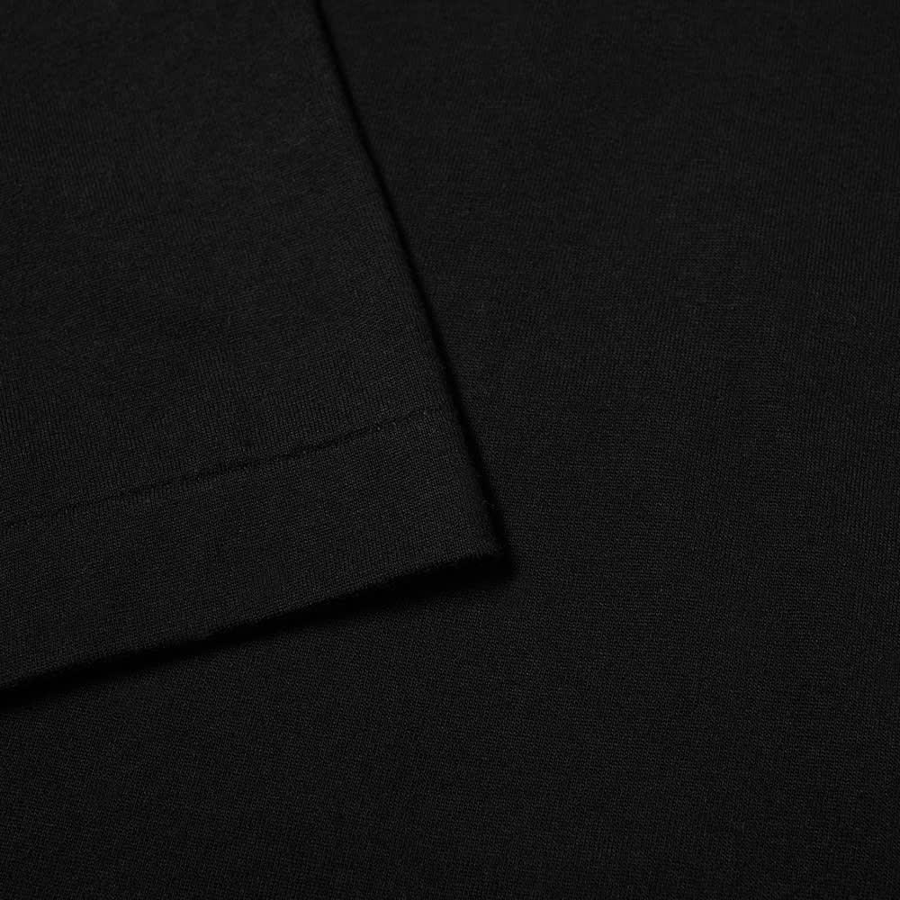 Comme des Garcons Homme Plus Side Zip Tee - Black