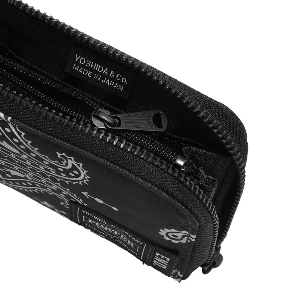 END. x Porter-Yoshida & Co. 'Bandana' Wallet - Black