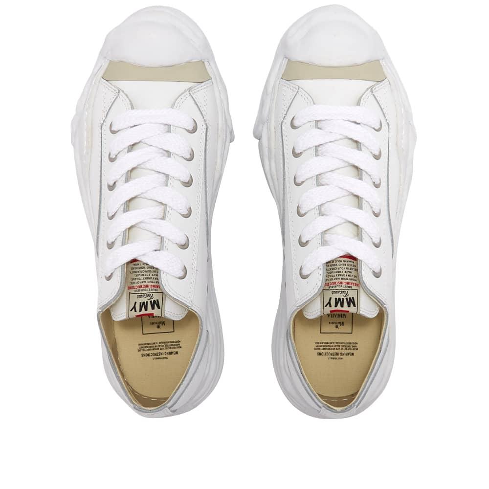 Maison MIHARA YASUHIRO Original Sole Leather Low-Top Sneaker - White