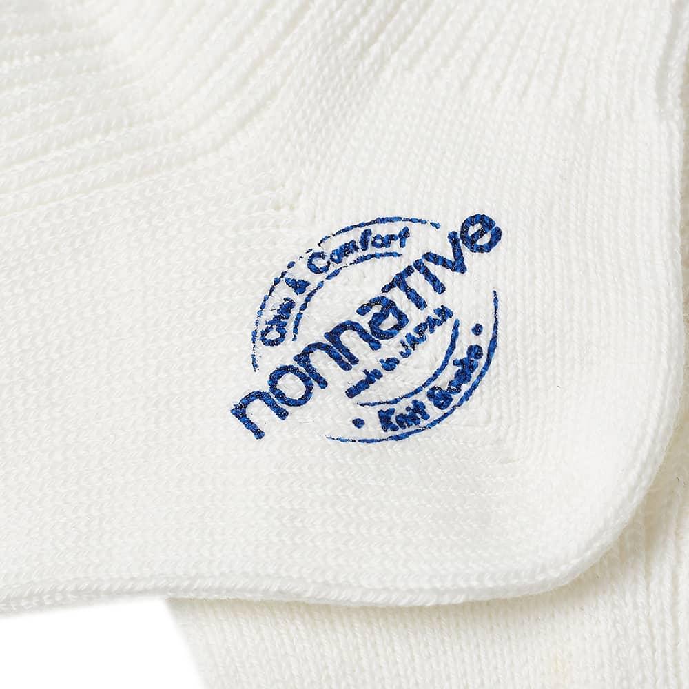 Nonnative Dweller Socks Hi - Mole