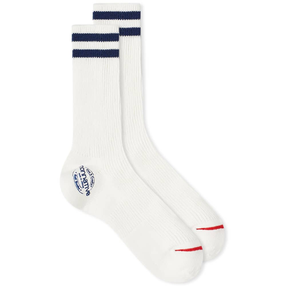 Nonnative Dweller Socks Hi - Navy