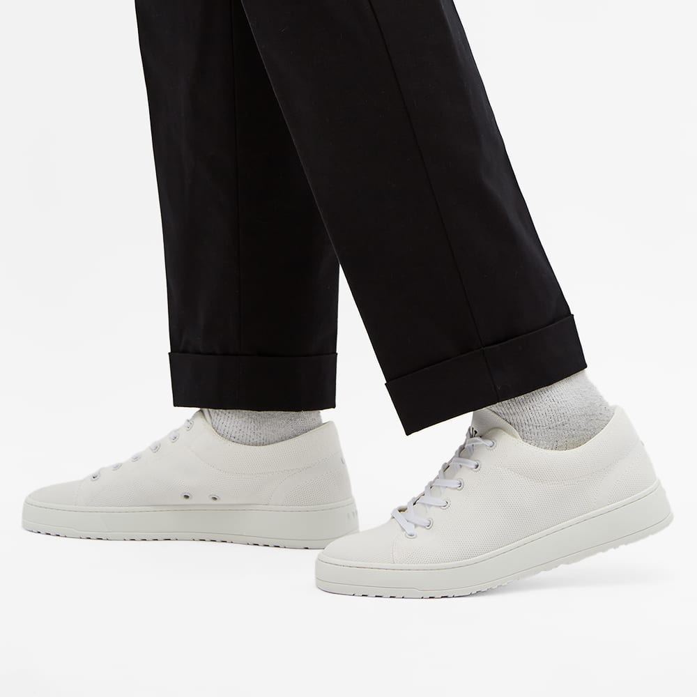 ETQ. Low Top 1 Closed Knit Econyl Sneaker - White