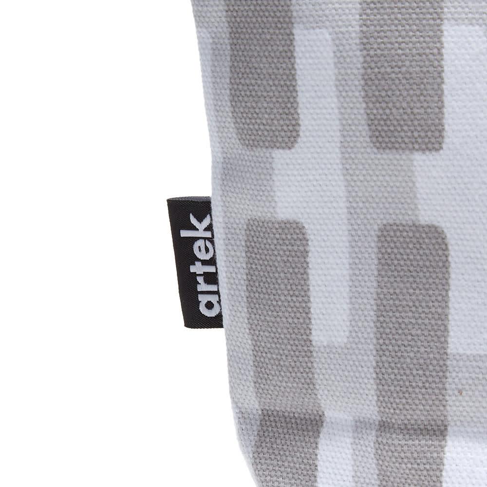 Artek Siena Zip Pouch - Grey & Lightgrey Shadow