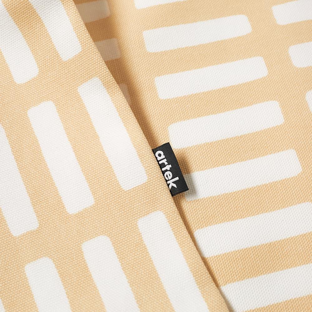 Artek Siena Cushion Cover - Small - Sand & White