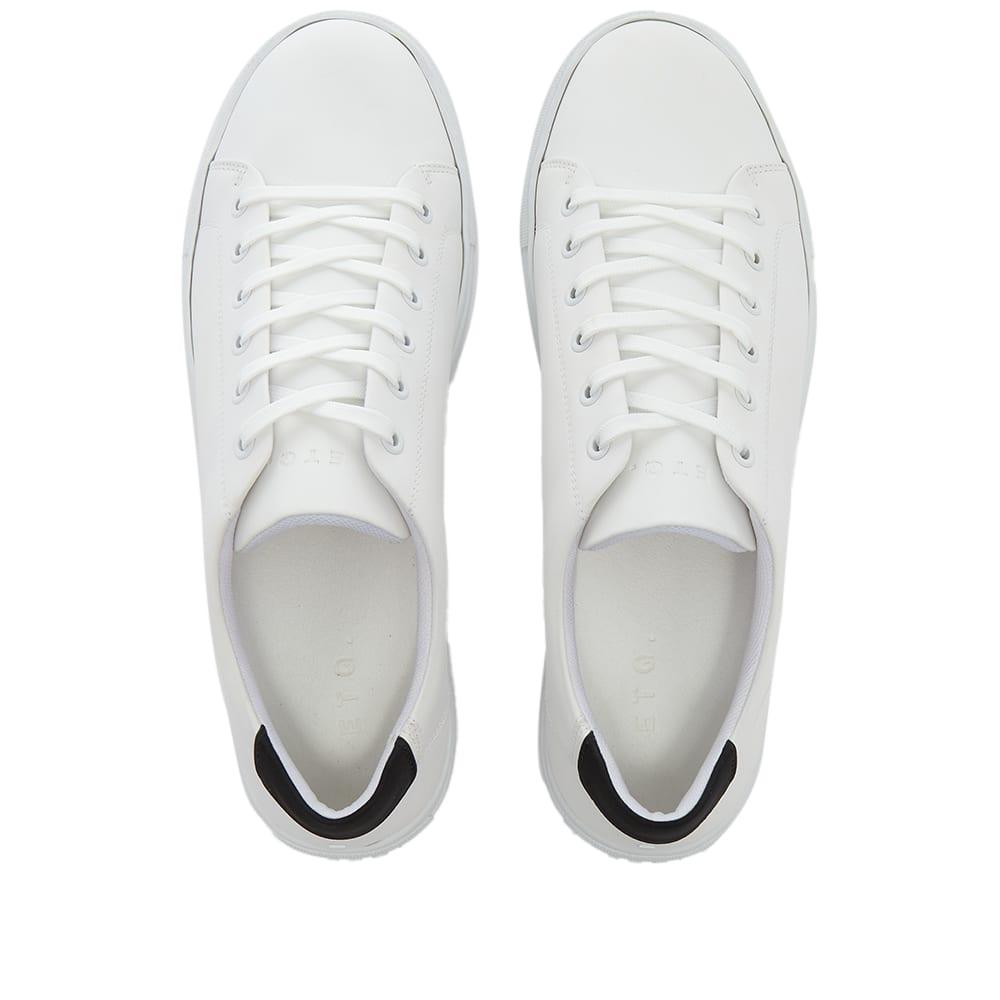 ETQ. Low Top 1 Court Lite Sneaker - White & Black