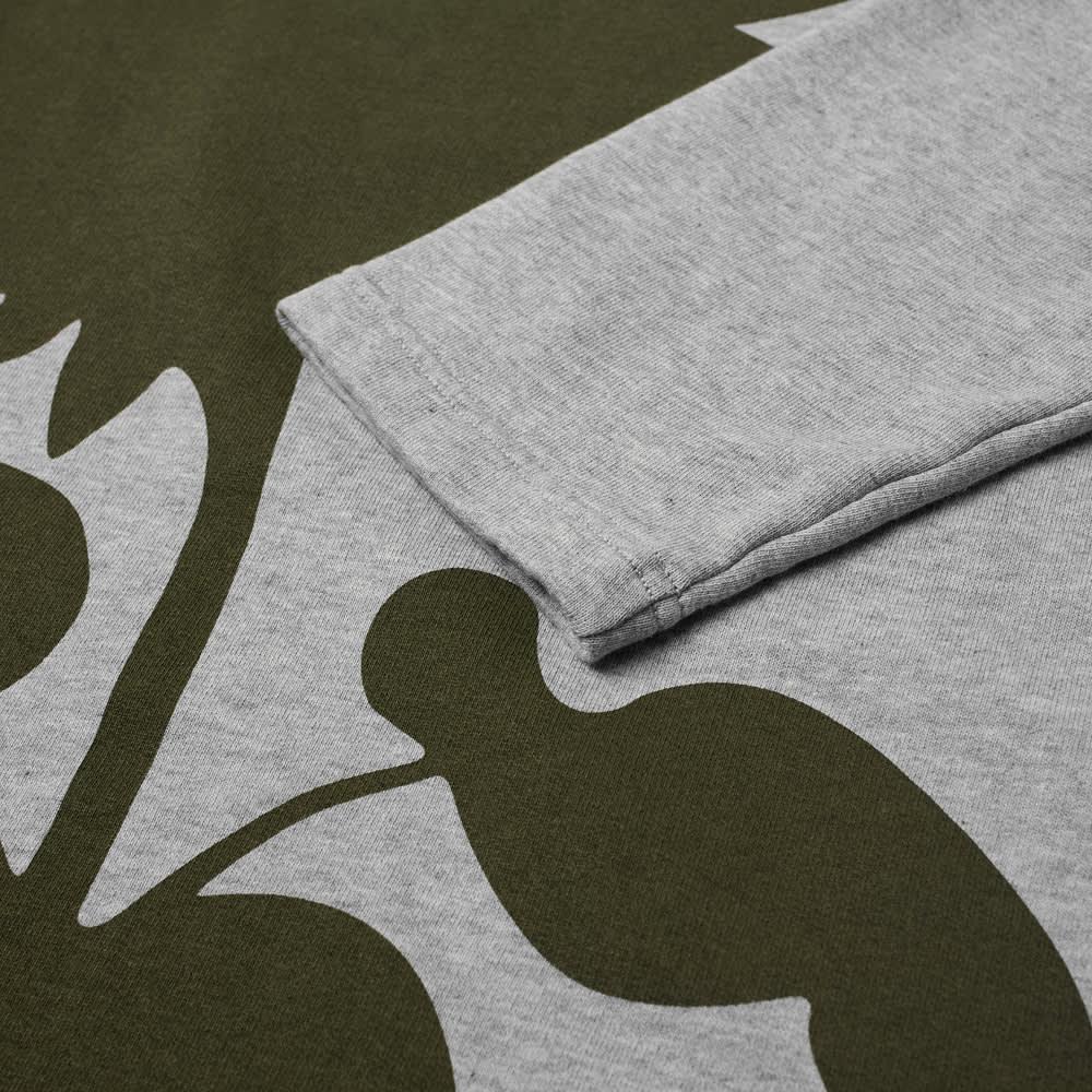 Craig Green Flower Print Sweat - Grey & Olive Sunflower