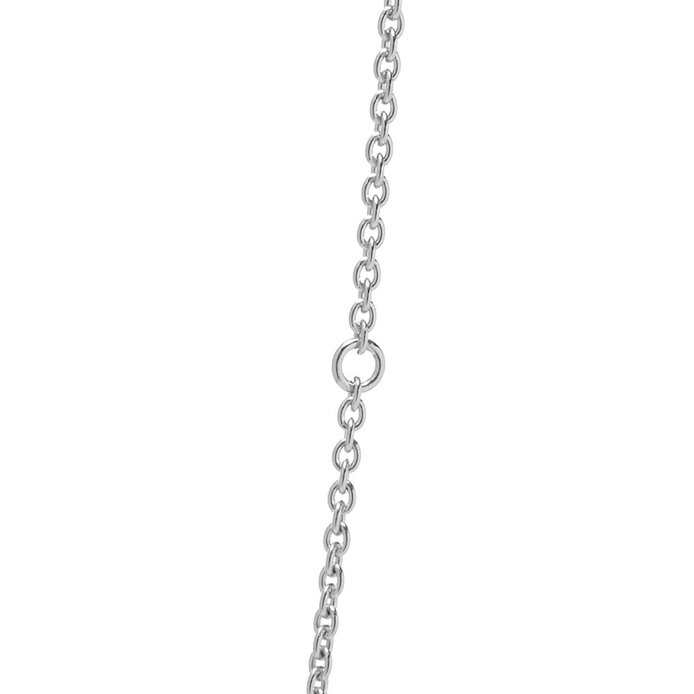 """Tom Wood 18"""" Rolo Chain - Silver"""