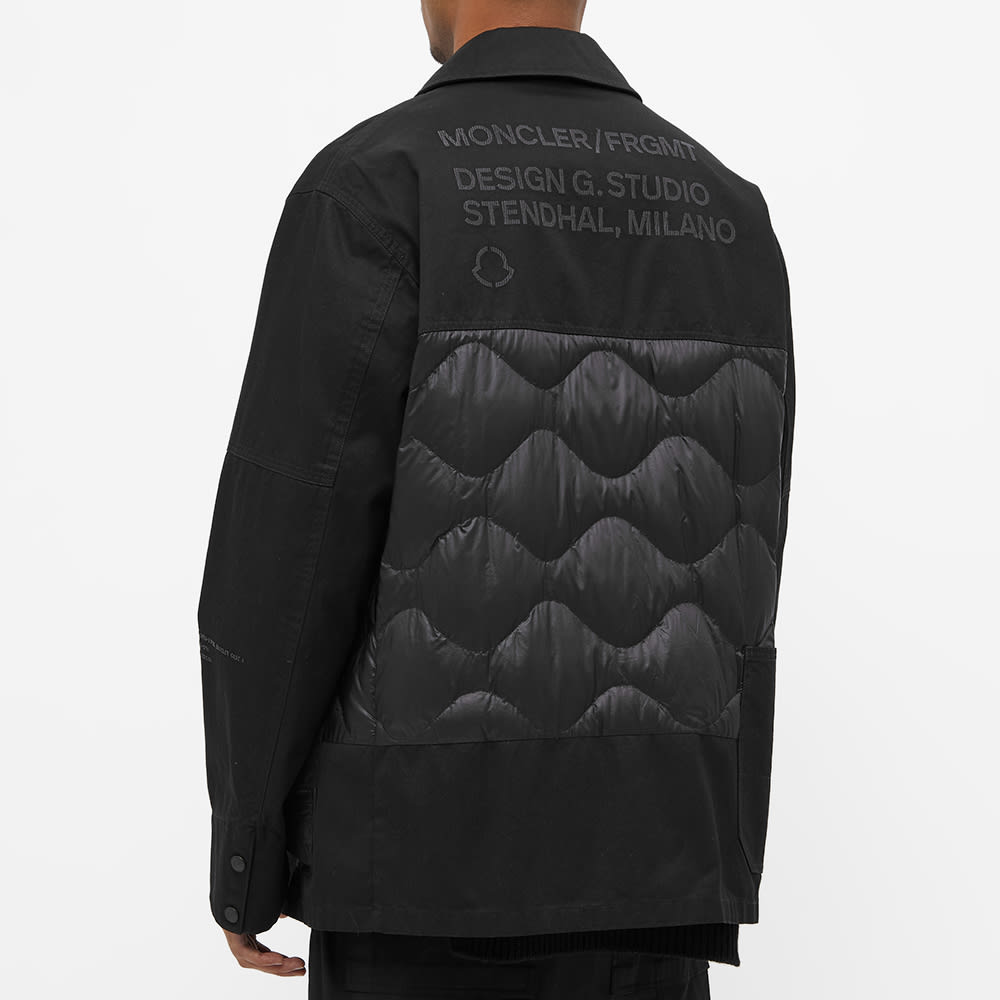 7 Moncler FRGMT Hiroshi Fujiwara Workwear Jacket - Black