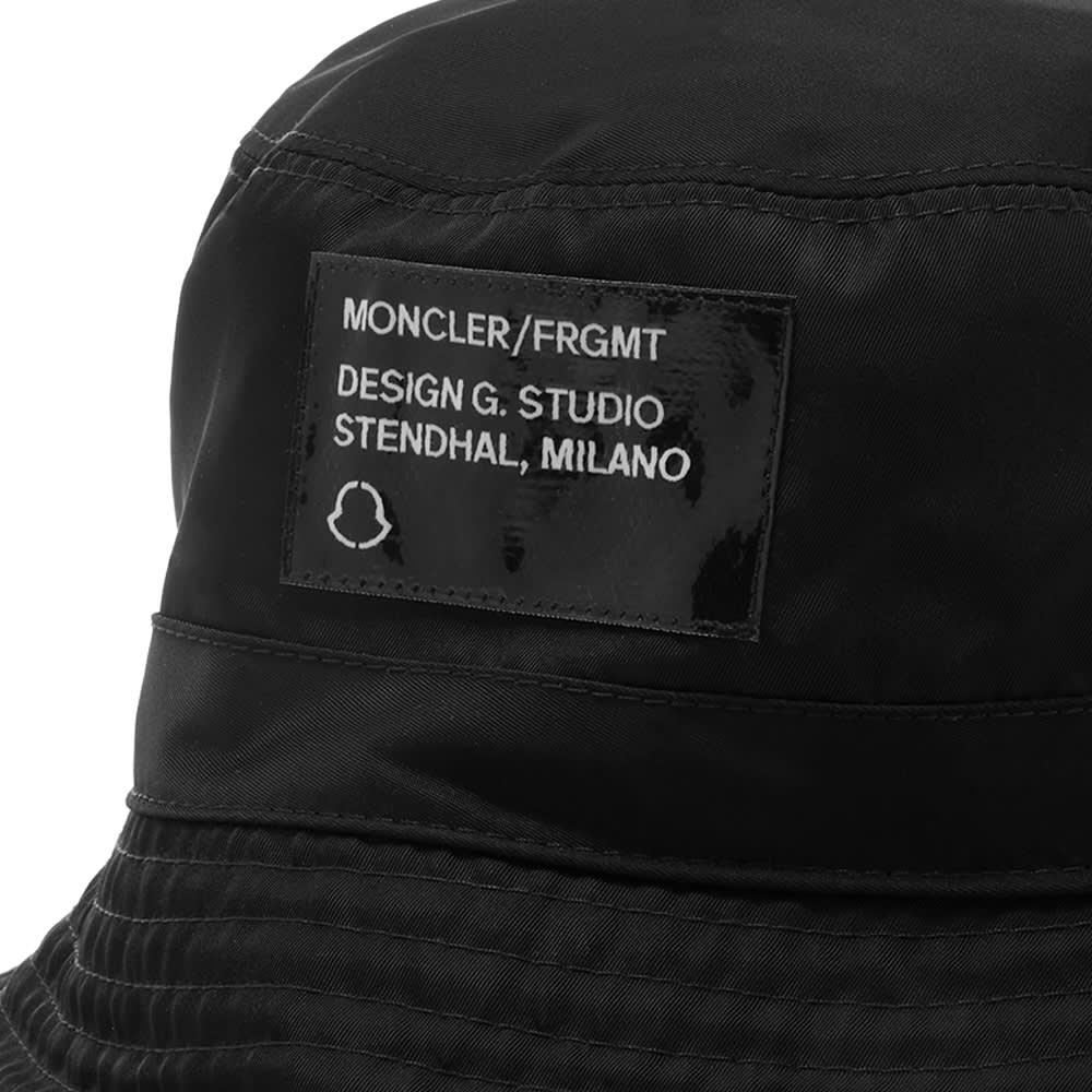 Moncler Genius - 7 Moncler FRGMT Hiroshi Fujiwara Reversible Blackwatch Bucket Hat - Black
