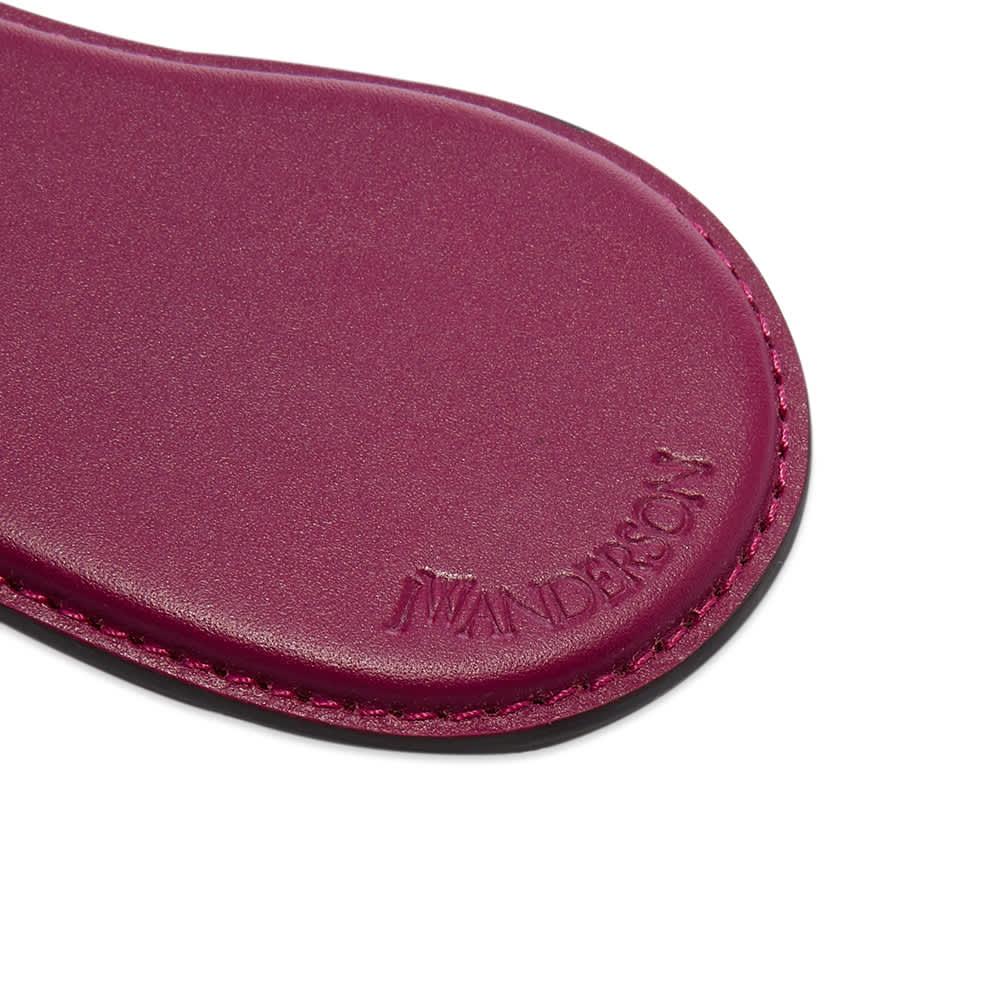 JW Anderson Aubergine Keyring - Purple