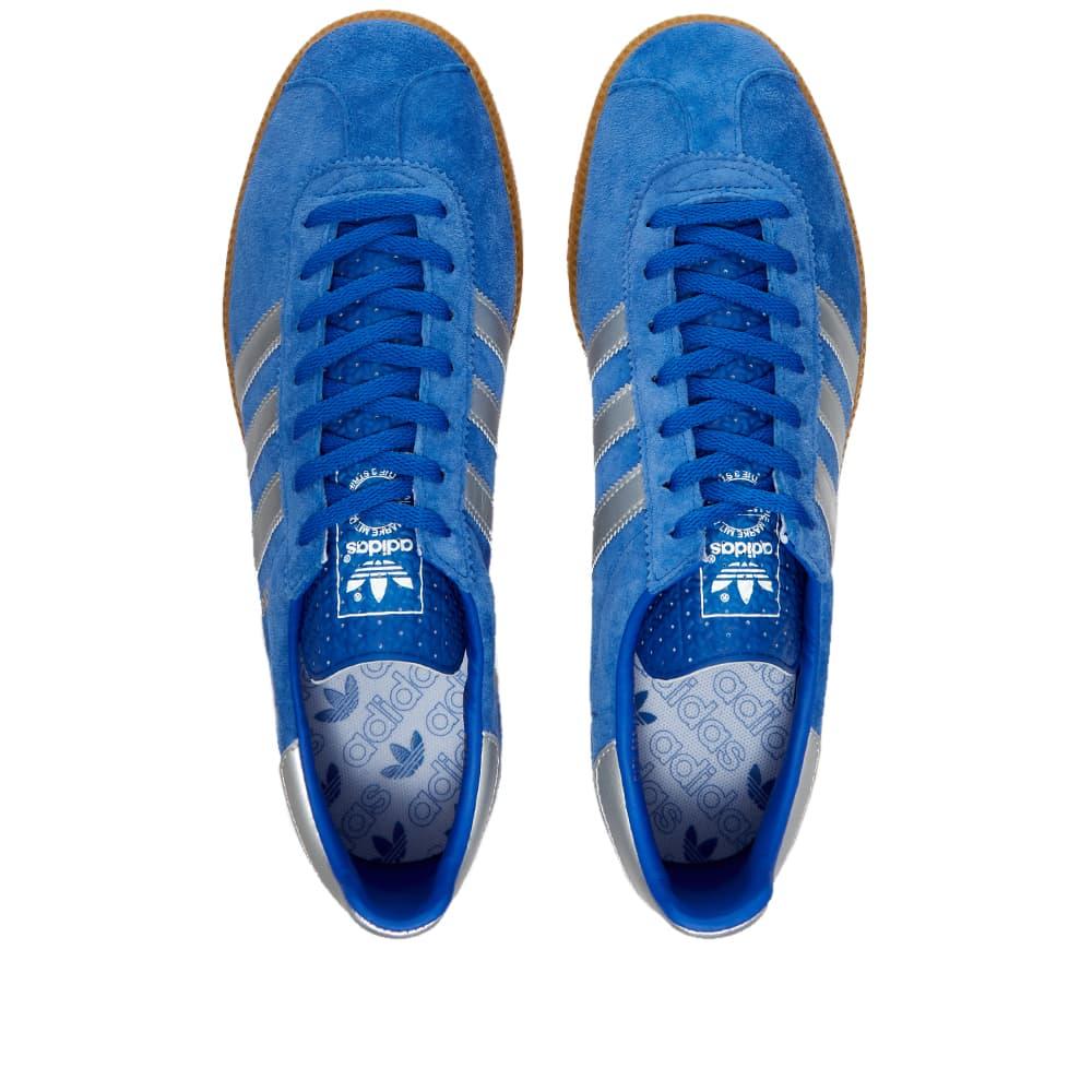 Adidas Torino - Blue, Silver & White