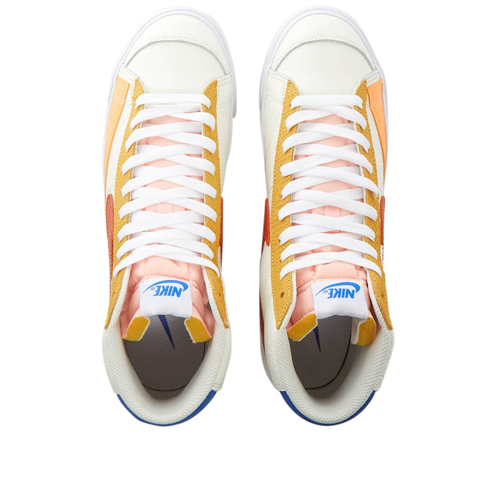 Nike Blazer Mid 77 Golden Hour W - Sail, Campfire Orange & White