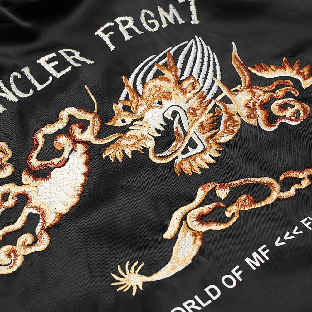 7 Moncler FRGMT Hiroshi Fujiwara Souvenir Fleece Jacket - Black