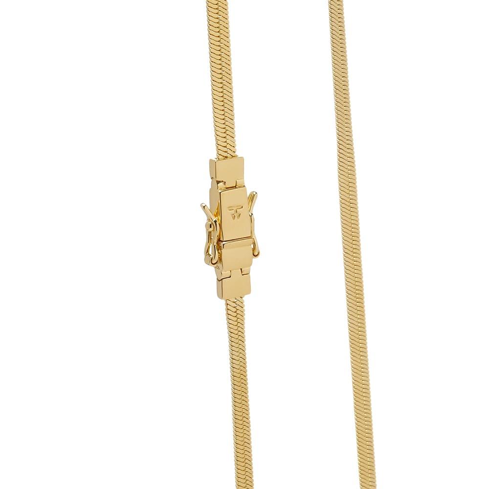 Tom Wood 20.5 Herringbone Chain - Gold