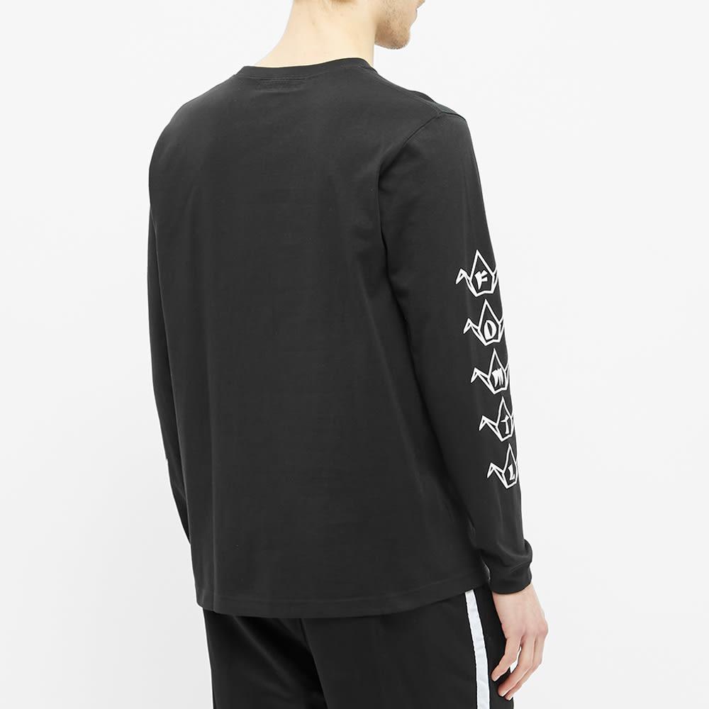 FDMTL Long Sleeve Boro Graphic Tee - Black