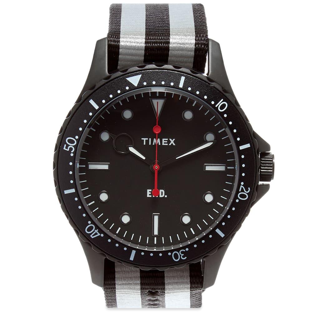 END. x Timex Navi XL Watch - Black