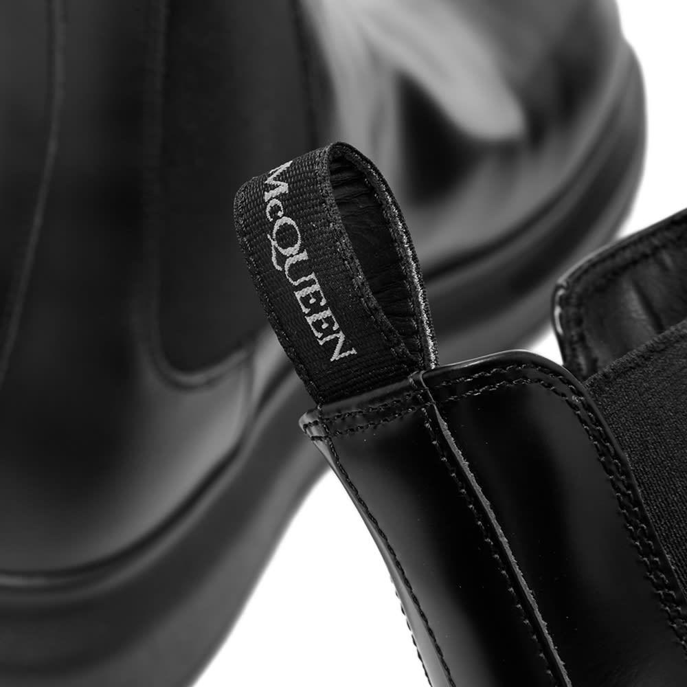 Alexander McQueen Wedge Sole Hybrid Chelsea Boot - Black