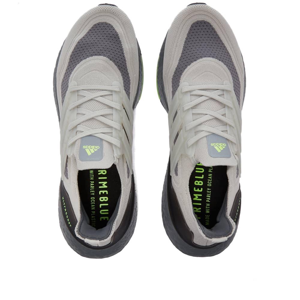 Adidas Ultraboost 21 - Metal Grey & Signal Green