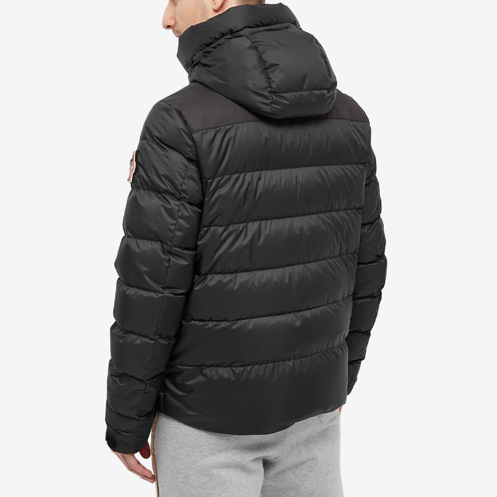 Moncler Grenoble Camurac Hooded Down Jacket - Black