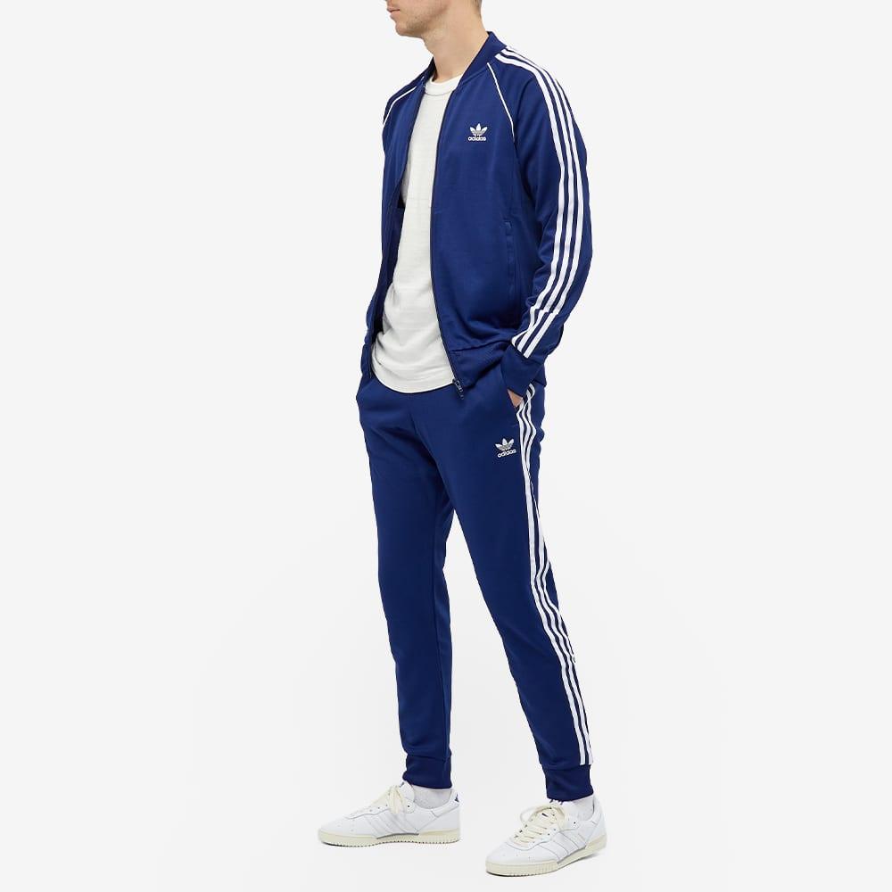Adidas Superstar Track Pant - Night Sky & White