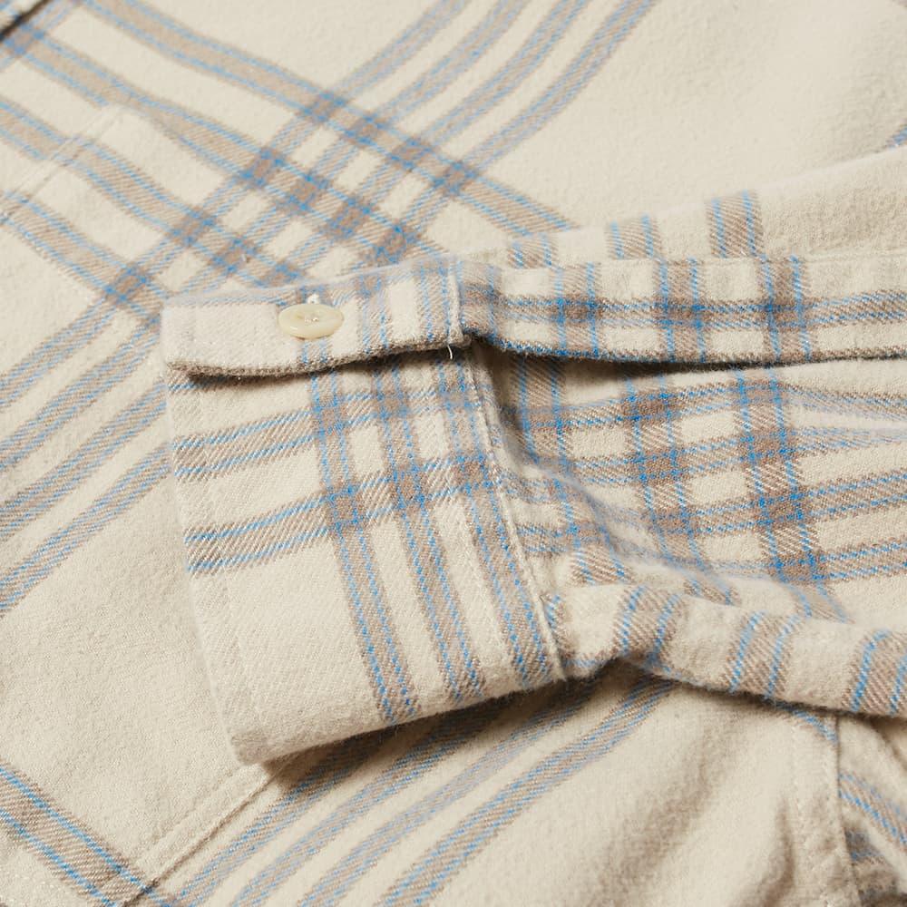 NN07 Deon Western Overshirt - Khaki Check