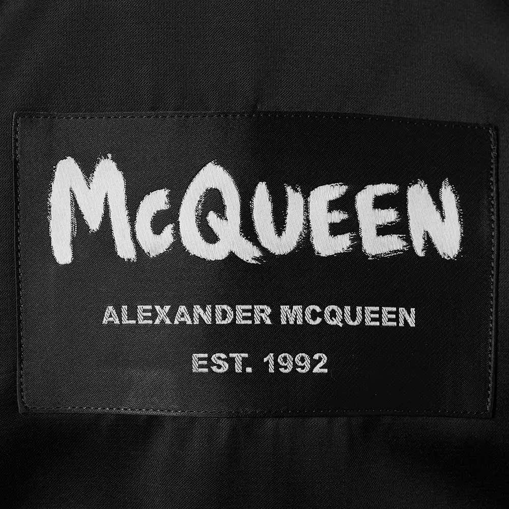 Alexander McQueen Back Patch Logo Shirt - Black